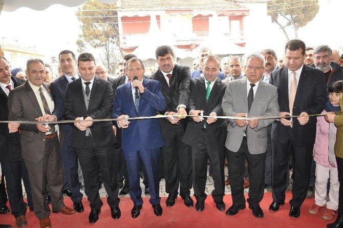 Balıkesir Kepsut 7. Tarım Ve Hayvancılık Fuarı Açıldı