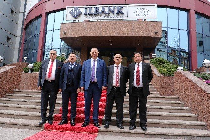 Başkan Ergün'den İller Bankası'na Teşekkür Ziyareti
