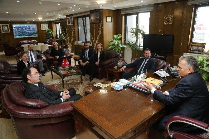 TED Kayseri Koleji Mezunları Melikgazi Belediyesi Çalışmaları İle Bilgilendirildi