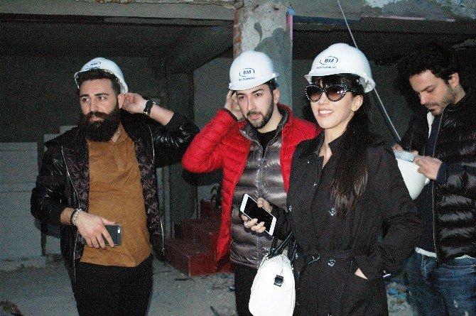 Hande Yener Baretini Taktı, İnşaata Girdi