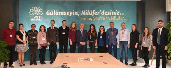 """Bozbey: """"Nilüfer'e Yeni Kütüphaneler Gelecek"""""""