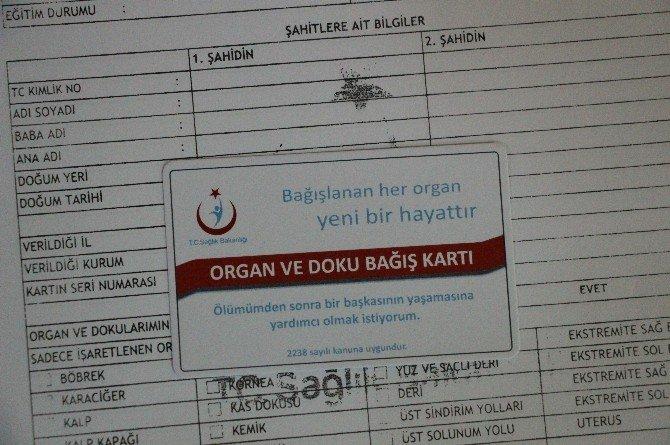 Öğrencilerden Organ Bağışına Yoğun İlgi