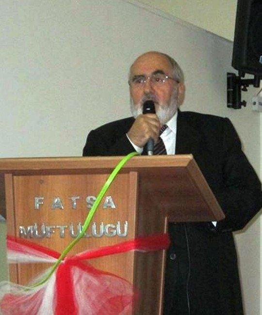 Fatsa'da Eğitim Hizmetleri Faaliyetleri Çalıştayı