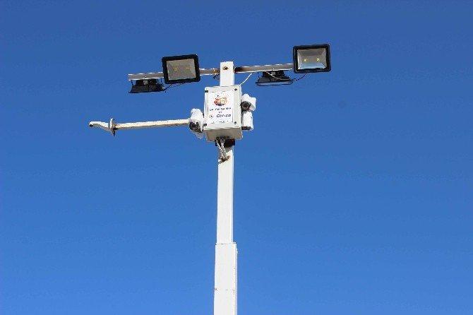 Ortaca Belediyesinden Tekne Çekek Yerine Güvenlik Sistemi