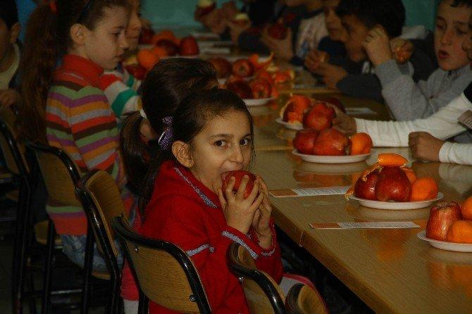 """""""Sağlıklı Meyve Tabağım"""" Etkinliği"""