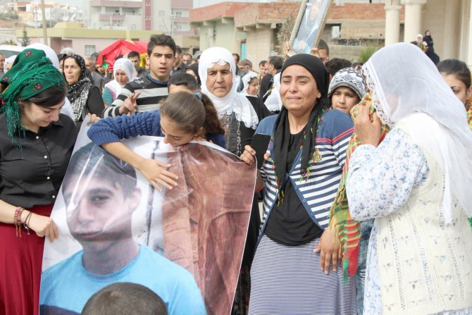 Cizre'de hayatını kaybeden Murat Şimşek Nusaybin'de toprağa verildi