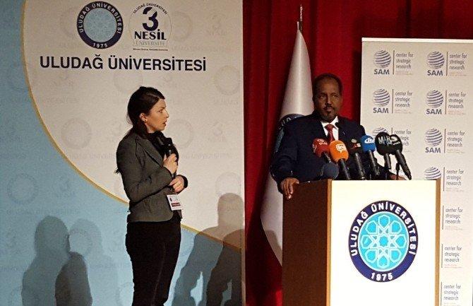 Somali Cumhurbaşkanı Hasan Şeyh Mahmud: