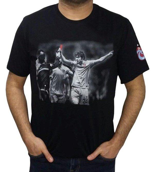 Salih Dursun'un hareketi t-shirt oldu