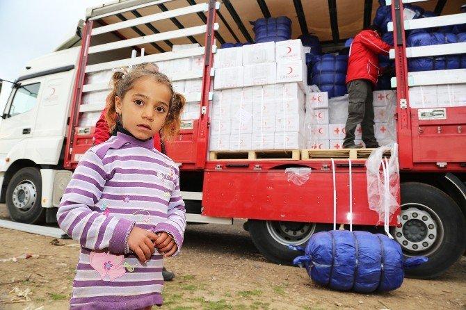Torbalı'daki Suriyeli Mültecilere Yardım Seferberliği