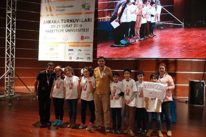 TED Tokat Koleji Robot Ekibi Ankara'dan Ödülle Döndü