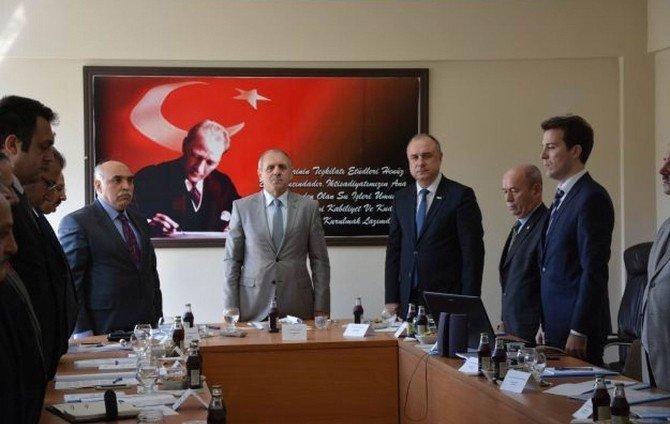 Teski Genel Müdürü Başa, Tekirdağ İl Su Yönetimi Koordinasyon Kurulu Toplantısı'na Katıldı