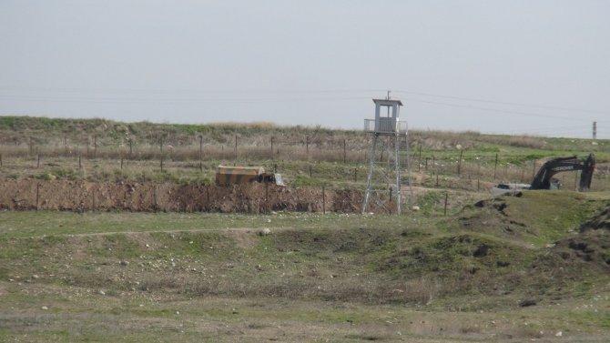 Nusaybin ile Suriye sınırında bulunan mayınlar imha edildi