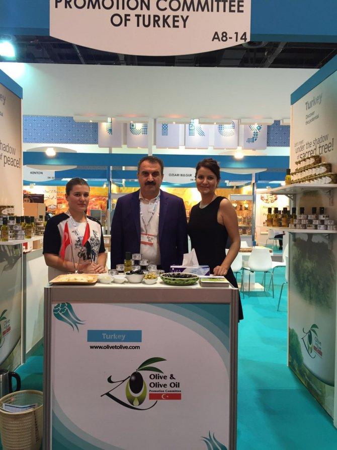 Türk zeytin ve zeytinyağı Dubai'den dünyaya ulaşacak