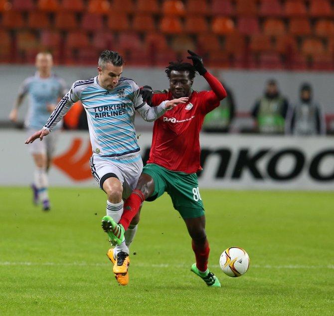 Lokomotiv Moskova: 1 - Fenerbahçe: 1