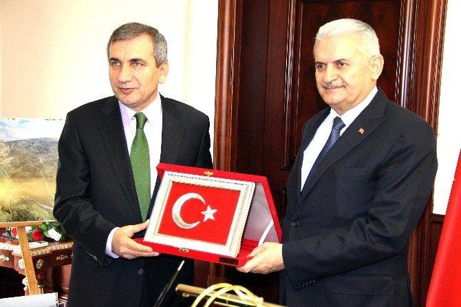 Ulaştırma Denizcilik Ve Haberleşme Bakanı Binali Yıldırım: