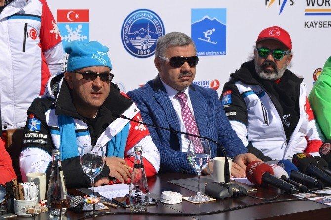 Fıs Snowboard Dünya Kupası Erciyes'te Yapılacak