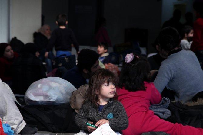 Yunanistan'da mülteci ve göçmen kaosu büyüyor