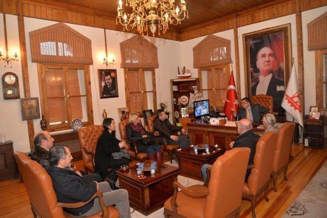 Bidos'tan Başkan Yağcı'ya Ziyaret