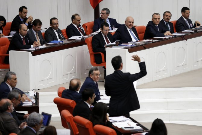 HDP'nin muhalefet şerhinin bütçe raporunda yer almaması tartışıldı