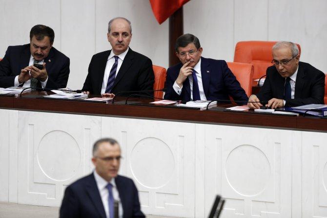 Başbakan Davutoğlu ve CHP lideri Kılıçdaroğlu Meclis Genel Kurulu'nda