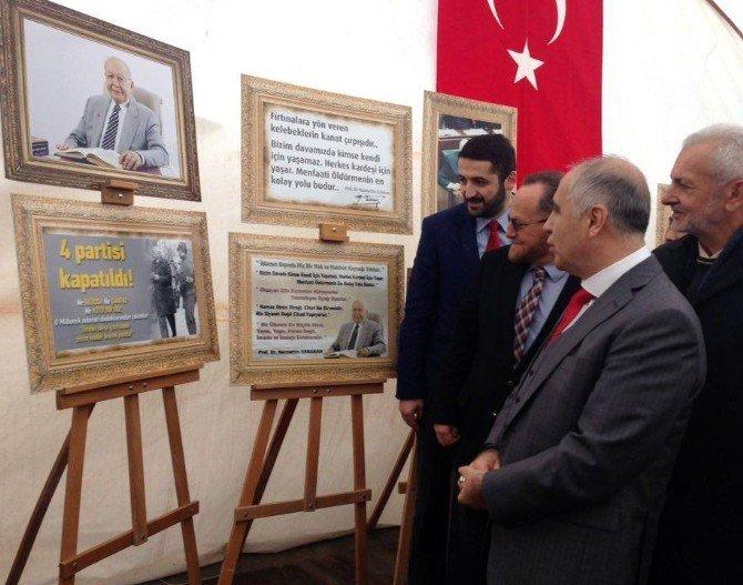 'Necmettin Erbakan Fotoğraf Sergisi' Açıldı