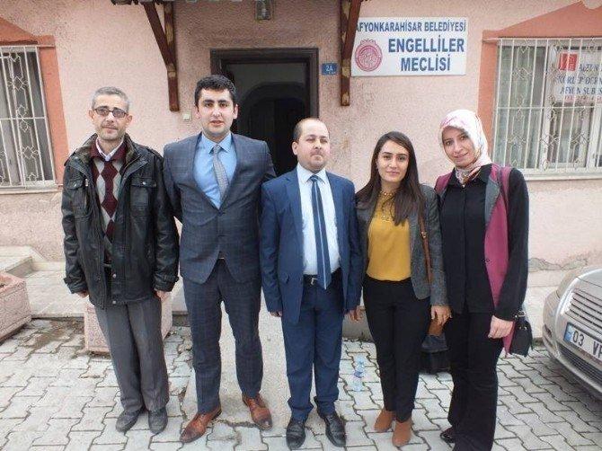 Acil Tıp Teknisyenleri Ve Teknikerleri Derneği'nden Altı Nokta Körler Derneği'ne Ziyaret