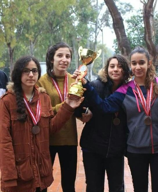 Oryantringte Adana birincisi Burç Okulları