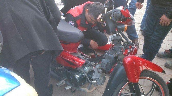 Başkasının Motosikletini, Kendisinin Sanıp, Polise Şikayet Etti