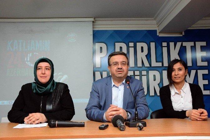 """AK Parti Afyonkarahisar İl Kadın Kolları """"Hocalı Katliamı""""nı Lanetledi"""