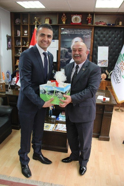 AK Parti İl Başkanı'ndan CHP'li Belediye Başkanına Ziyaret