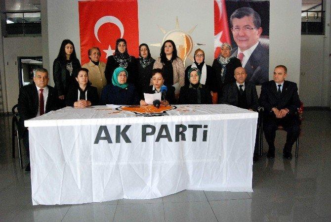 AK Parti'li Kadınlar Hocalı Katliamı'nı Kınadı