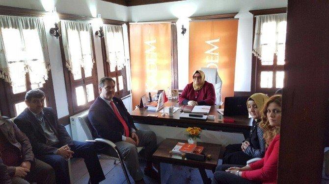 AK Parti'den Kadem'e Ziyaret