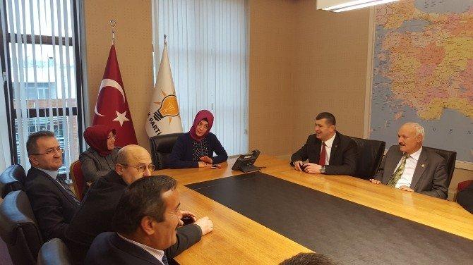 AK Parti Alaplı Teşkilatından Ankara'ya Çıkartma