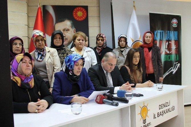 AK Partili Kadınlar Hocalı Katliamını Kınadı