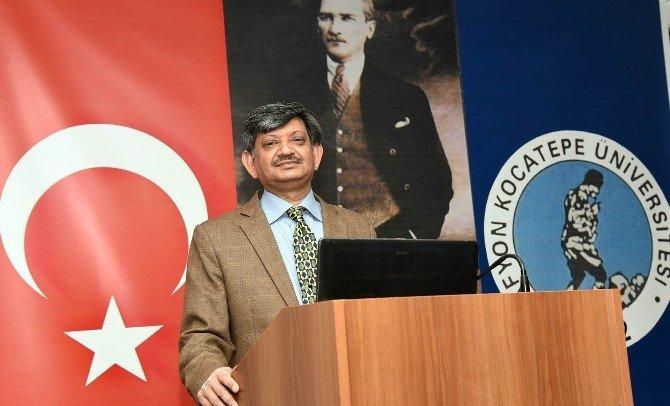 AKÜ Veteriner Fakültesi Pakistanlı Öğretim Üyelerini Ağırladı
