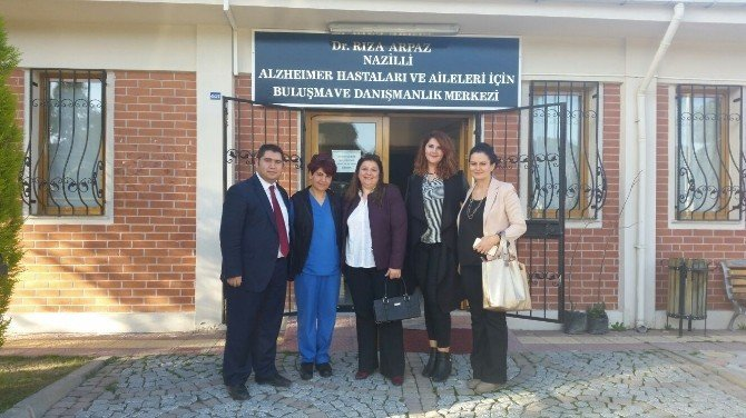 Alaşehir Belediyesi Nazilli'nin Alzheimer Merkezi'ni Model Alacak