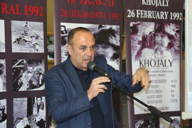 Gürcistan'da Hocalı'yı anma programı düzenlendi