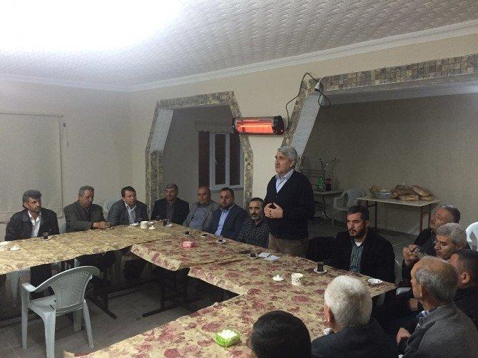 Başkan Musa Yılmaz Muhtarlarla Kargılı Köyü'nde Buluştu