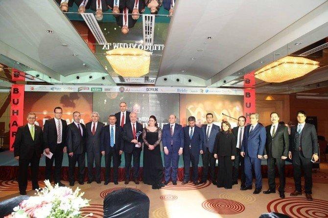 Yılın En Başarılı Belediye Başkanı Seçilen Kamil Saraçoğlu: Bu Ödül Kütahya'nın