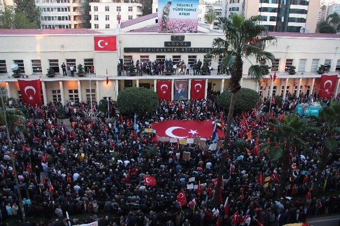 Adana'da Sözlü'ye Destek Eylem