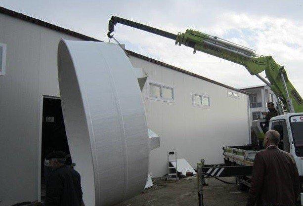 Bölgenin En Büyük Su Ürünleri AR-GE Merkezi Son Aşamasına Geldi