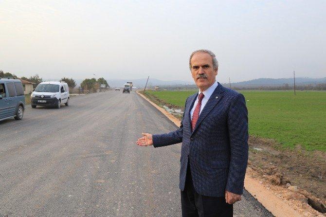 Kırsal Kesimde Yol Kalitesi Artıyor