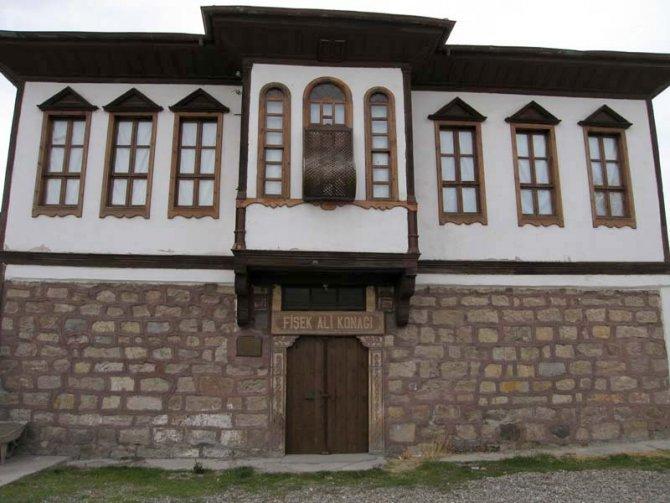 Çerkeş'in tarihi konağı içkili mekan haline getirildi
