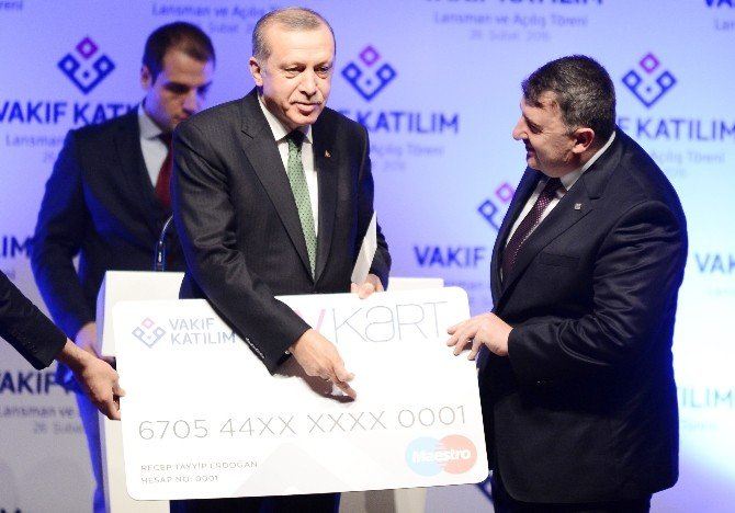 """Cumhurbaşkanı Erdoğan: """"Halk Bankası Katılım İşini Ağırdan Alıyor"""""""