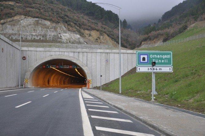 Samanlı Tüneli'ne 'Orhangazi' Adı Verildi