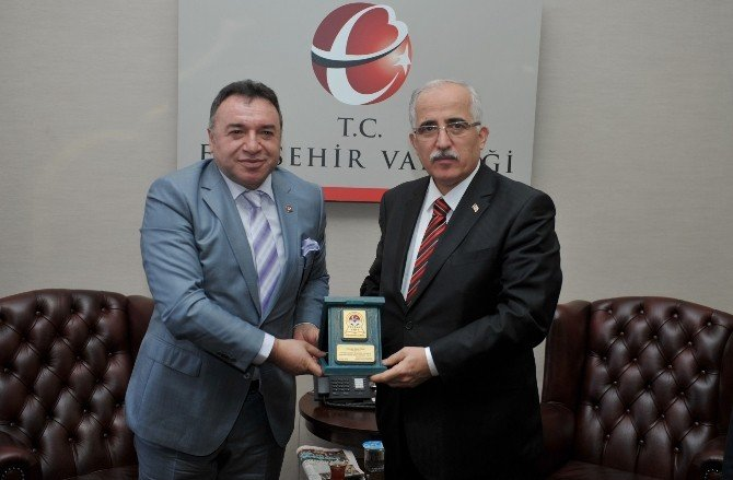 Tüfad Eskişehir Şubesi Vali Tuna'yı Ziyaret Etti