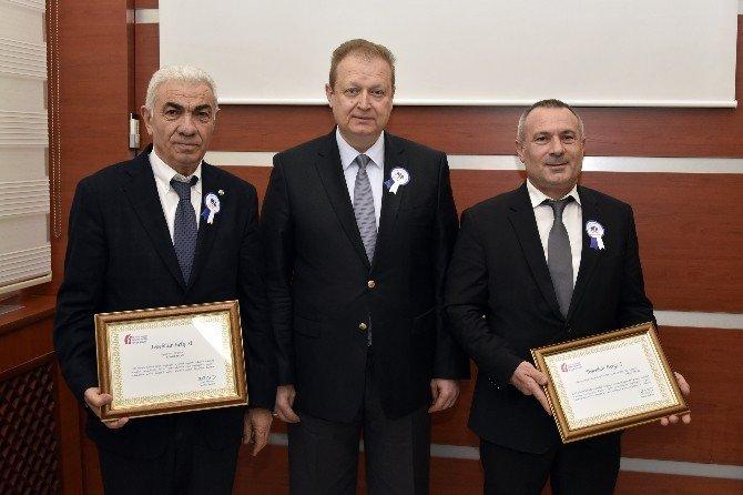 Gümüşhane'de Vergi Rekortmenleri Ödüllerini Aldı
