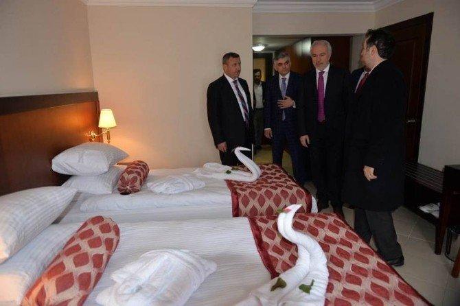 Ilıca Harlek Termal Otel Hizmete Açıldı