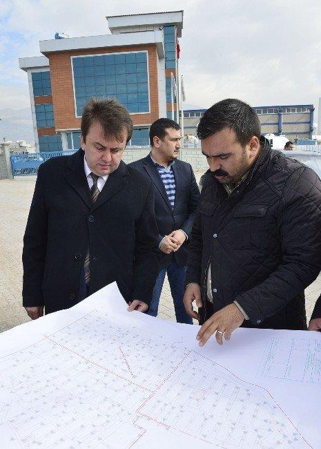 Başkan Erkoç Bulvar Çalışmalarını İnceledi