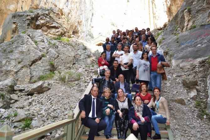 TÜRSAB ekibi Karaisalı'yı gezdi